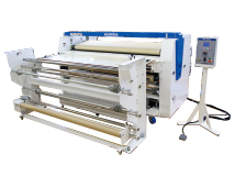Continuous Type Sublimation Heat Transfer Drum Press HSP-1300RU, HSP-1600RU, HSP-2000RU