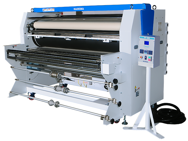 Continuous Type Sublimation Heat Transfer Drum Press HSP-1300RL, HSP-1600RL, HSP-2000RL